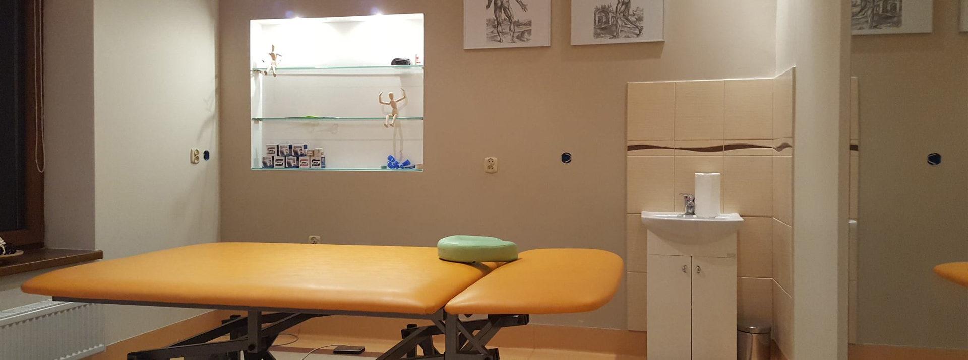 Oferujemy komfortowe i profesjonalne warunki do rehabilitacji